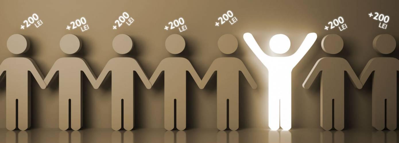Recomanzi si castigi: 200 de lei pentru fiecare prieten!